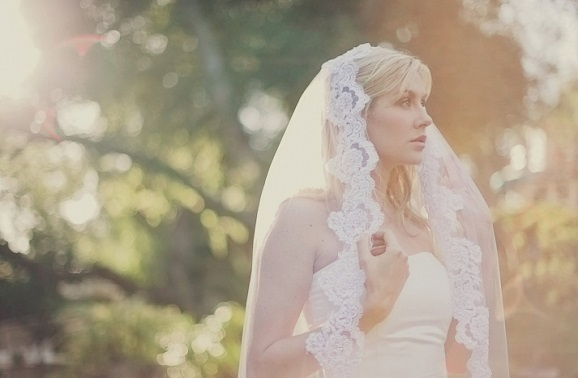 wedding veil featured